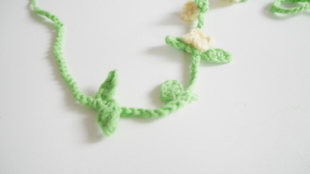easy crochet leaf free pattern
