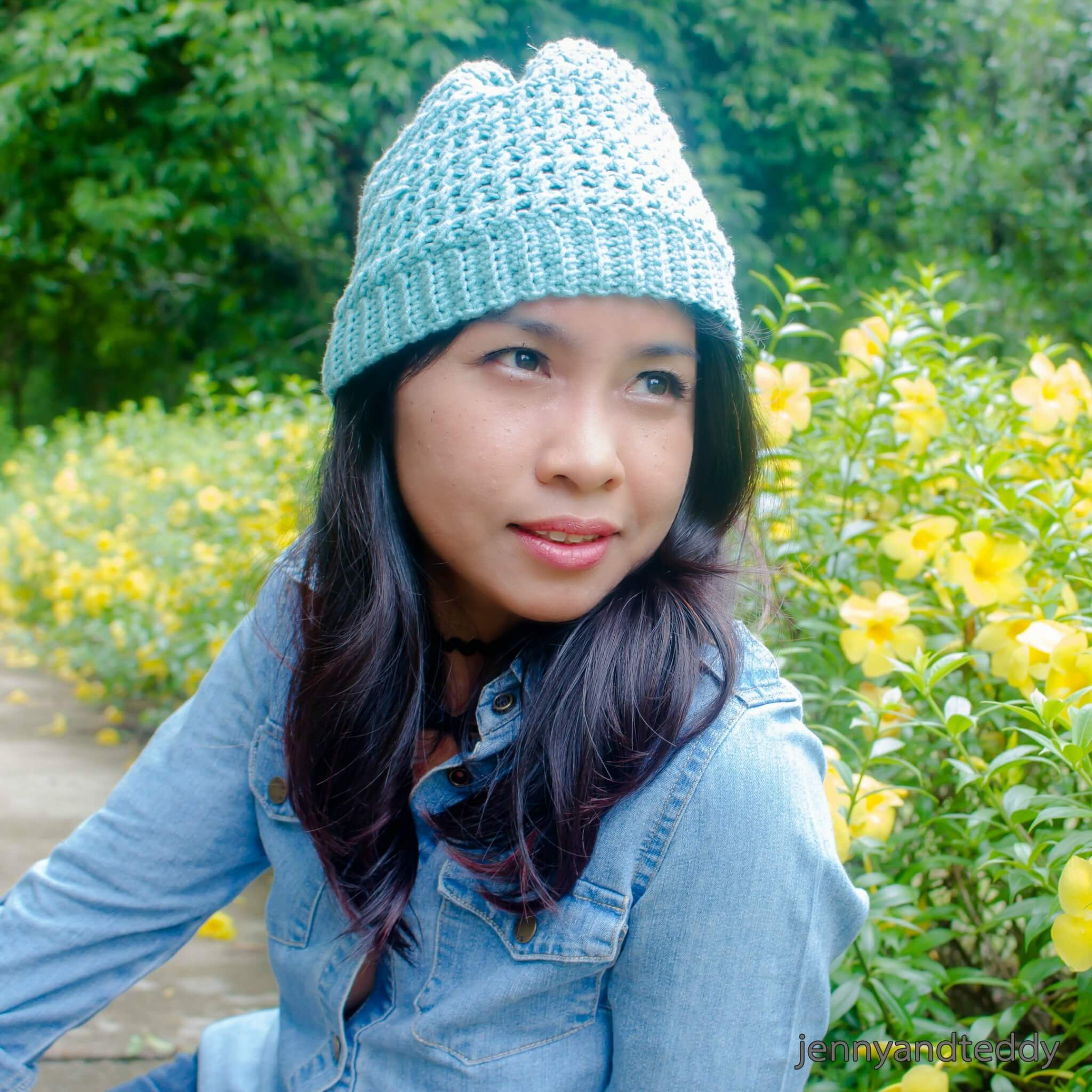The whimsical beanie free crochet pattern how to make criss cross beanie crochet hat free pattern bankloansurffo Image collections