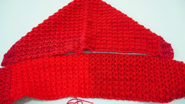 1how to make hoodie pocket scarf crochet