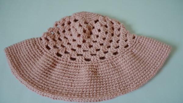 beginner wide brim sun hat free pattern crochet