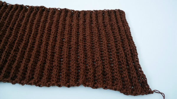 Latte neck warmer cowl free crochet pattern