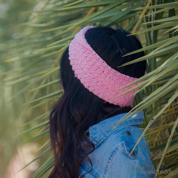crochet twisted headband free pattern