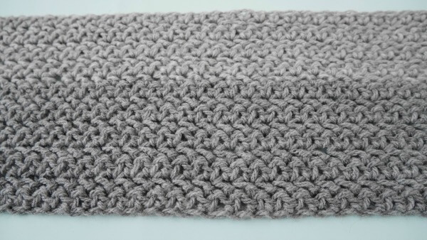 The Wilton Gray Men Scarf Free Crochet Pattern