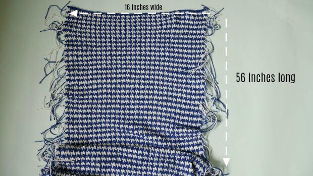 Boho Chic Houndstooth Poncho Free Crochet Pattern