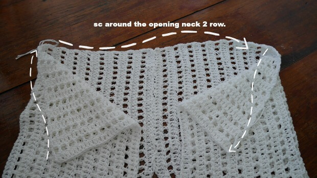 easy as pie crochet shrug free tutorial