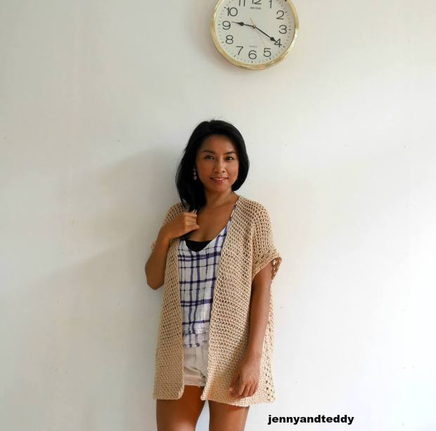the vacation summer crochet kimono cardigan free pattern beginner friendly