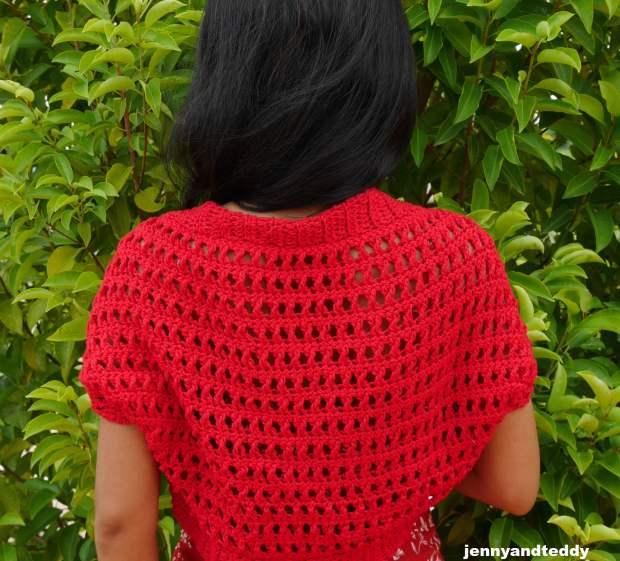 sunday afternoon bolero crochet pattern beginner friendly