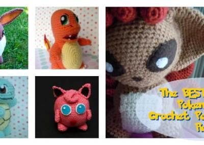 The BEST EVER Pokemon Go Crochet Amigurumi Pattern List