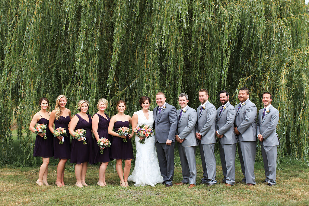 Laurel Creek Mano Bridal Party || flowers by Jen's Blossoms || photo by Kate Price Photography