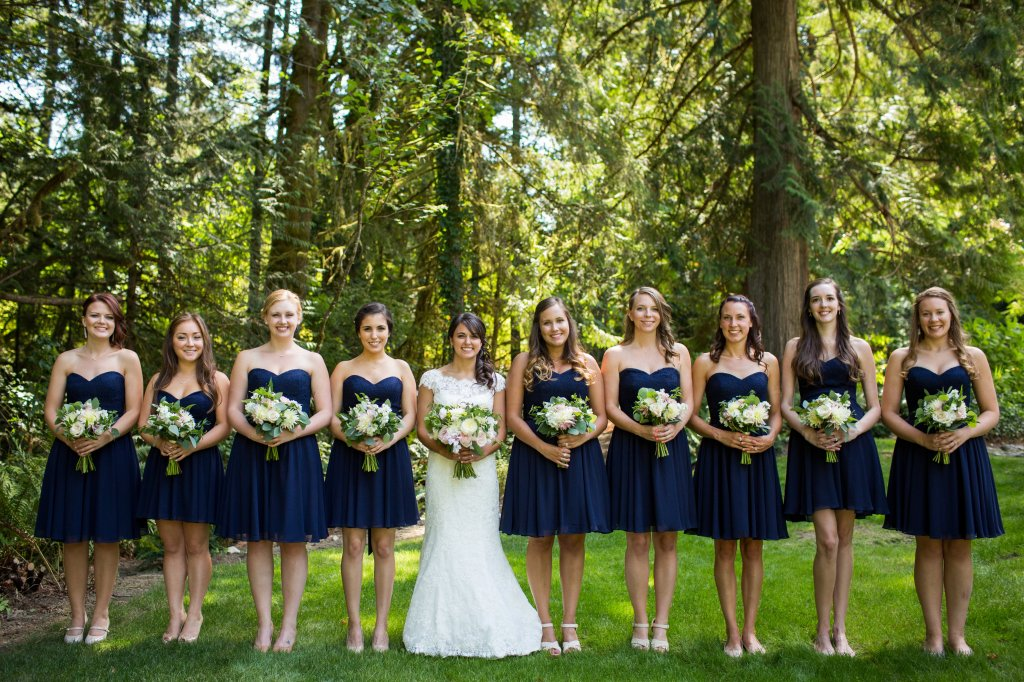 Blush, Navy & White Wedding, Gig Harbor