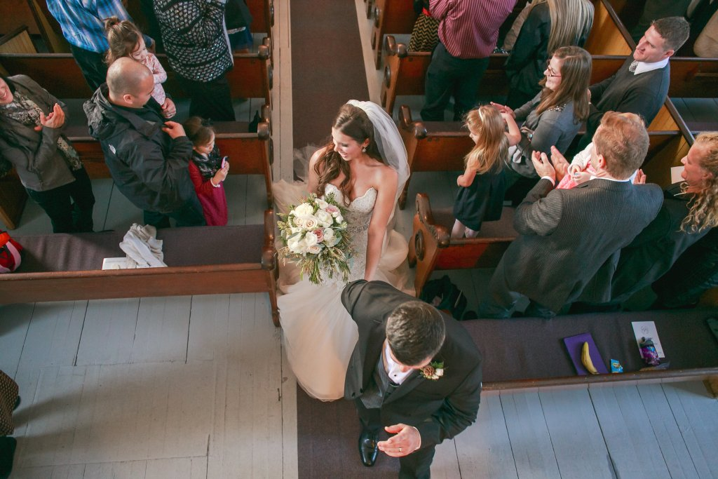 St. Paul's Church, Port Gamble Wedding, Winter Wedding