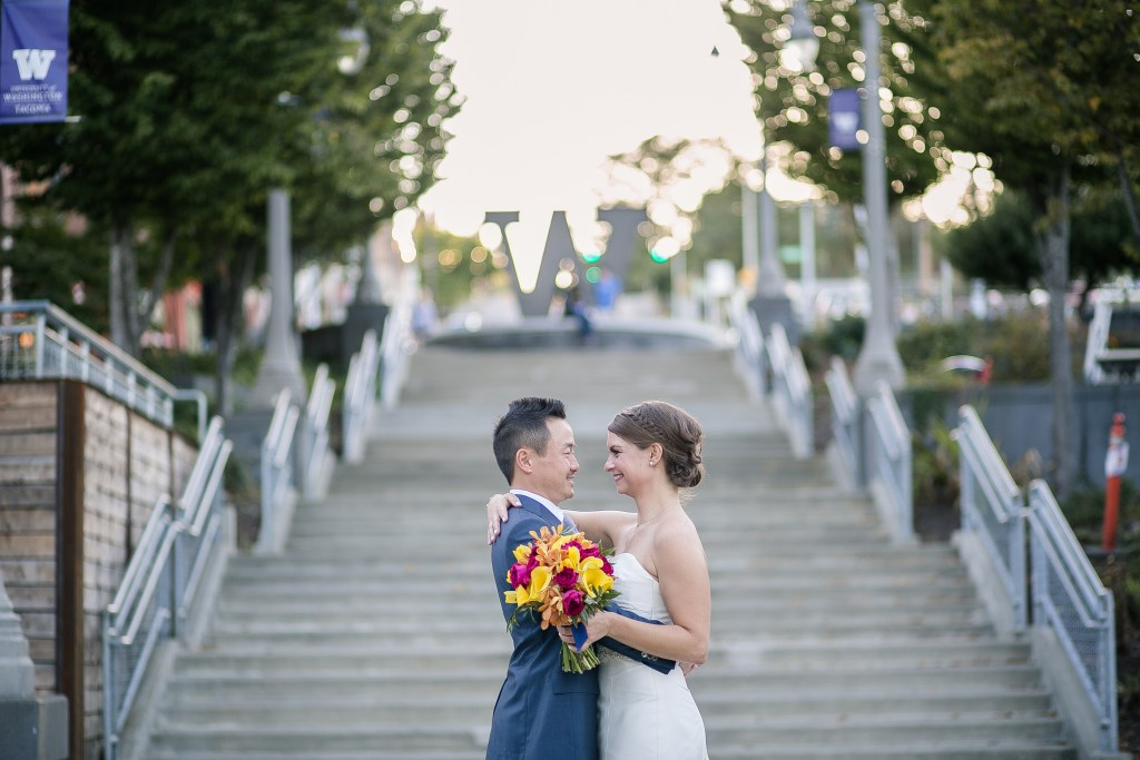 Union Station Tacoma Wedding || Photo: Genesa Richards Photography ||UW Tacoma Wedding