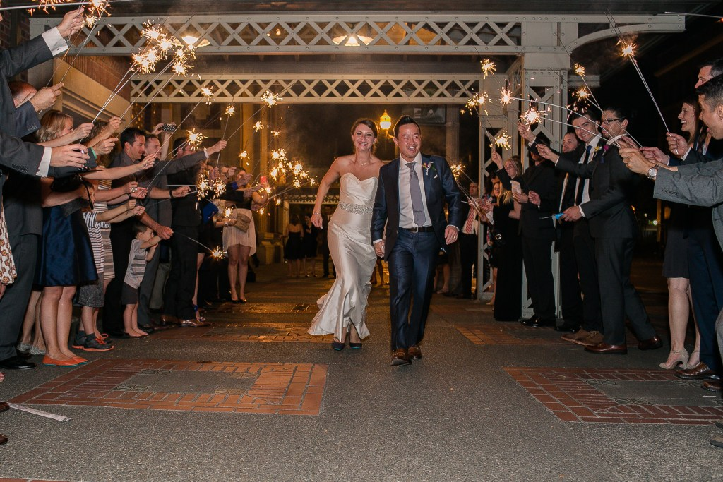 Union Station Wedding || Photo: Genesa Richards Photography ||The Exit