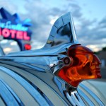 Route 66: Tucumcari's Chrome Goddess Hood Ornaments
