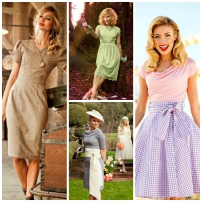 Dresses from Bygone Eras