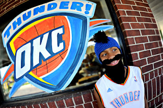 OKC Thunder Fear the Beard