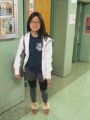 """Estee Hong, 12th grade. """"Doubt kills opportunities, so always give your best."""""""