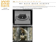 We Bite Back is dedicated to helping those suffering from eating disorders, and offers a series of inspirational videos.