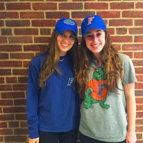 "Nikki Dukoff (left) and Sammi Silverman will both attend the University of Florida, and agree that one of their favorite aspects of the class was that they were able to write about anything that they wanted. ""It's really open. There is a lot of room to think creatively,"" said Silverman. Dukoff shared her affection for the class as well, ""I have really enjoyed learning more about journalism and working with different people in the class and exploring new ideas for pieces."""