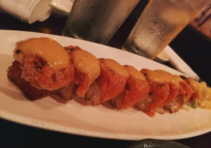 The torched spicy tuna and crispy rice is one of the most popular items on the menu.