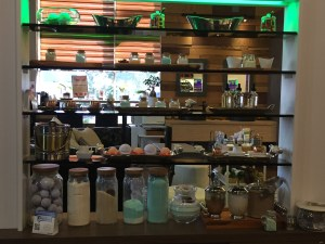 At the Natural Nail Salon in Syosset, customers choose from among many natural products that are safe to use and helpful to the environment.