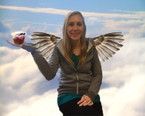 Acai bowls give Mrs. Cook wings, and now she can fly away from her students. She loves being able to read the Constitution and the Declaration of Independence up in the clouds in peace and quiet.