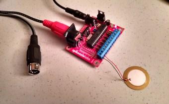 Assembled DKK-AI with test pad
