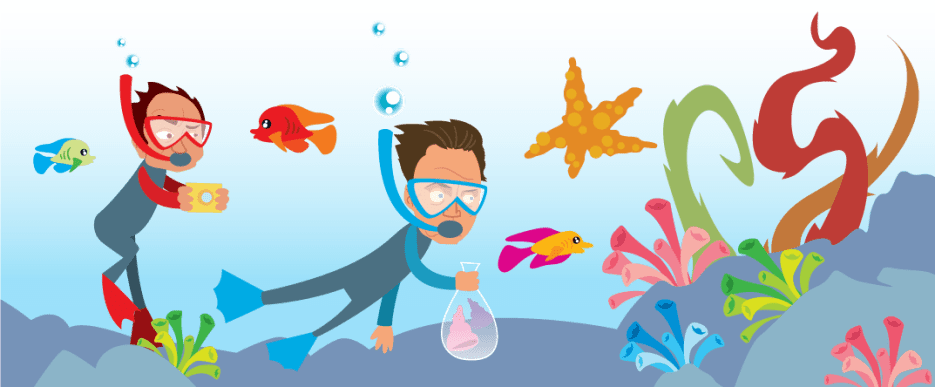 Talkin Walkin Under the Sea - Kevin Pollak