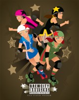 MILWAUKEE BREW CITY BRUISERS - Program Cover