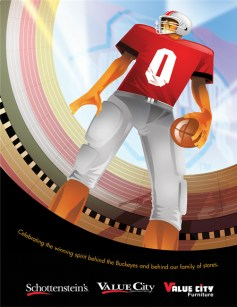 OSU FOOTBALL - Value City Magazine Ad