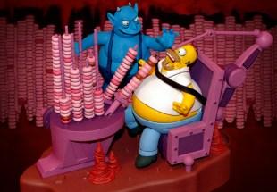 McFARLANE TOYS - Ironic Punishment Homer Simpson