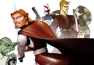 GENTLE GIANT - Clone Wars Obi-wan Kenobi