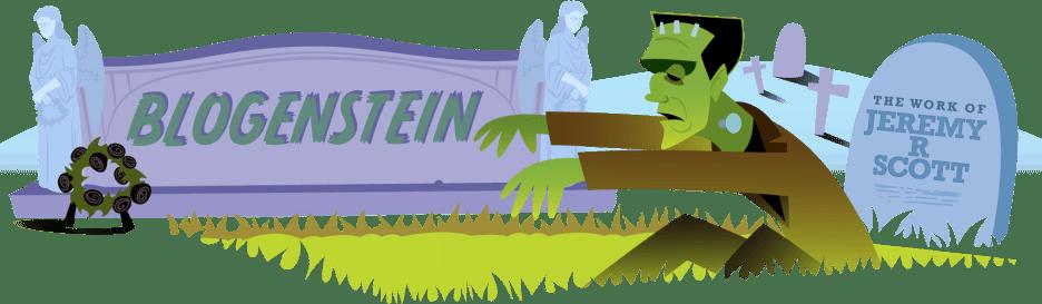 BLOGENSTEIN banner