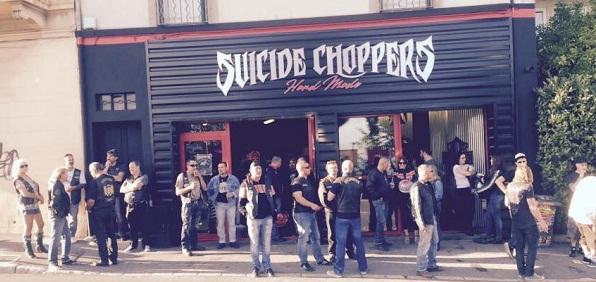 Jérôme Viaud- Suicide Choppers