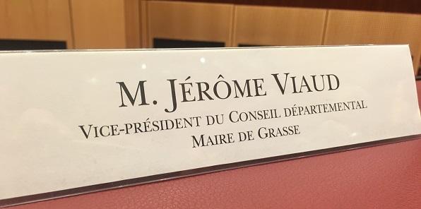 Jérôme Viaud- Département