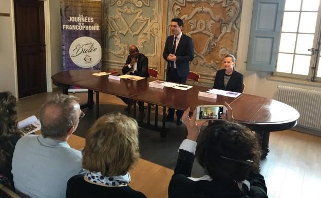 Conférence de Presse Journées de la Francophonie 01