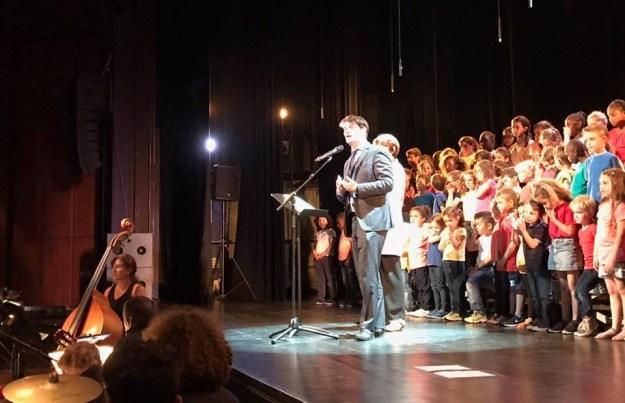 Les écoles chantantes au Théâtre de Grasse 02