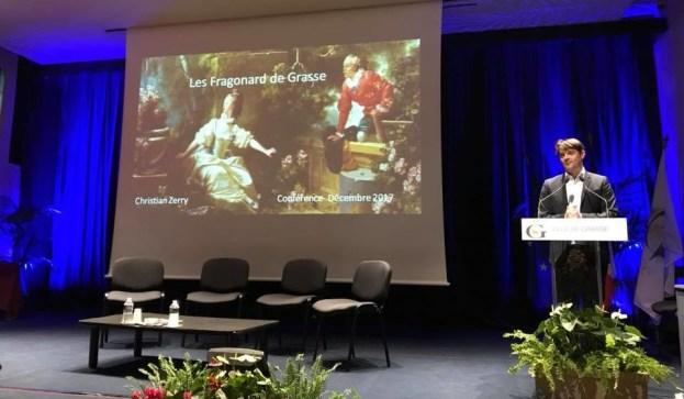 Conférence de Christian ZERRY Les Fragonards de Grasse 01