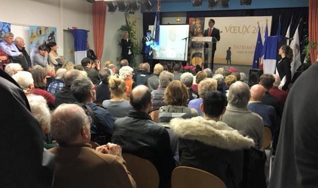 Présentation des voeux 2018 à Saint-François 02