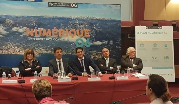 Point d'étape de la construction du réseau d'initiative publique La Fibre 06