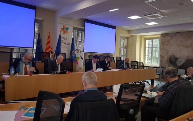 Bureau des Maires de la Communauté d'Agglomération du Pays de Grasse du 13-04-2018