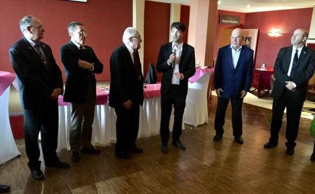 Moment de partage avec les sociétaires de l'Association des Anciens Combattants du Pays de Grasse et Amis 01