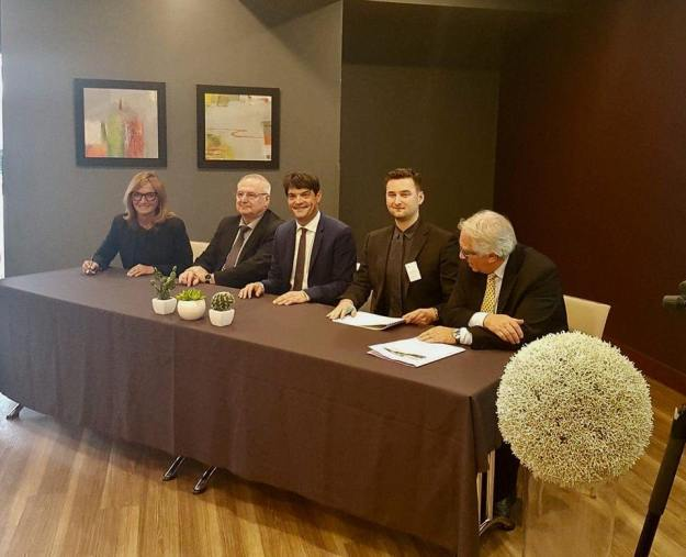 Signature de la Convention du Plan de Mobilité du Parc d'Activités des Bois de Grasse 03