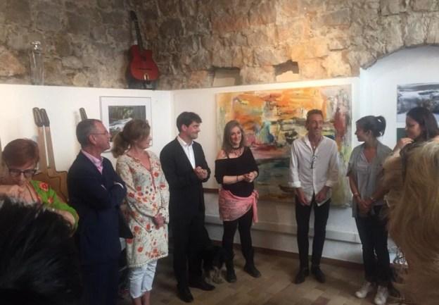 Vernissage de l'exposition des artistes Ester de Pass et Alexandra Verbeek, Galerie Tressmane 04