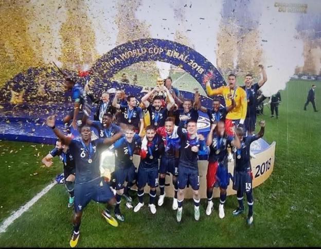 Le Coeur de la France Championne du Monde bat à Grasse ce soir 01