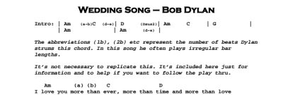 Bob Dylan – Wedding Song   Guitar Lesson, Tab & Chords   JGB
