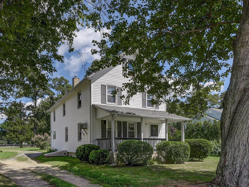 Charming farmhouse at 346 Brickyard Road just listed on 6 acres!