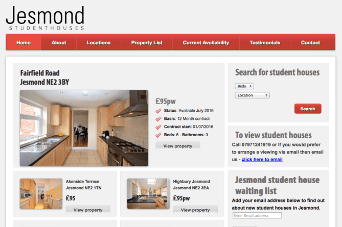 www.jesmondstudenthouse.co.uk