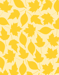 Printable leaf pattern paper