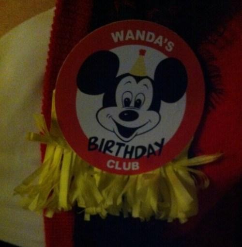 birthday badge